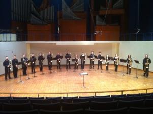 Trombone choir tour 2 008