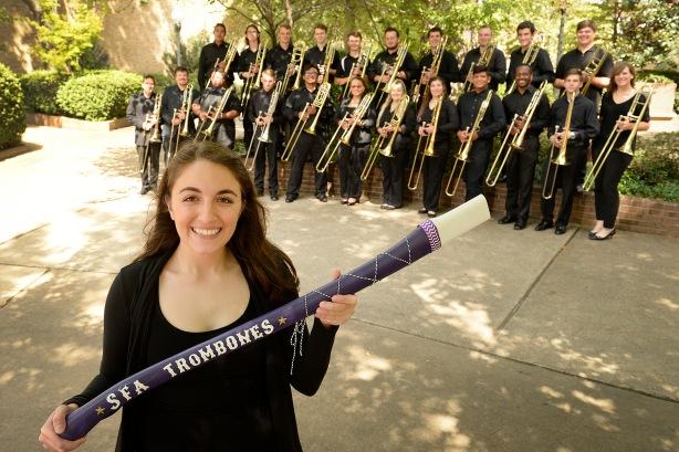 2017-2018 Trombone Studio with Lizzi