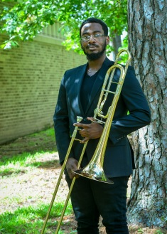 Jonathan Adewusi is a senior psychology major from Houston, Texas. He has been a member of SFA's Symphonic Band, Roaring Buzzsaws, Trombone Choir, and The Lumberjack Marching Band. What he likes about SFA the most are the bonds and friendships made throughout the years.