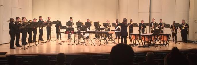 Trombone Choir Concert F2016
