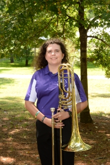 Megan Lambert is a junior music education major from Waxahachie, Tx. She plays in the Lumberjack Marching Band, SFA Jazz Band and the SFA Wind Symphony. She attended Waxahachie High School in Waxahachie, Tx. In high school she was the band president, brass captain and band librarian, while there she received many different awards including the band service award. After she graduates she plans to continue her education and receive her masters in music education. Her favorite thing about transferring to SFA is the friends she's made and getting pushed to be a better musician.