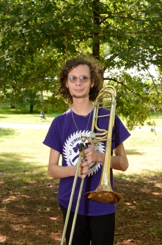 Indie Miligan is a freshman music composition major.