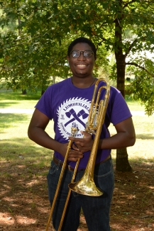 Xavian Clay is a freshman from Duncanville, TX.